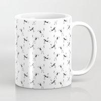crane Mugs featuring Crane by Jiaxi Huang