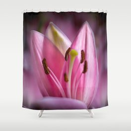 April Tulips Shower Curtain