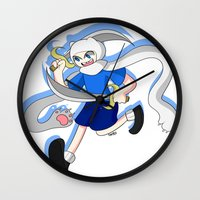 finn Wall Clocks featuring Finn by dartty