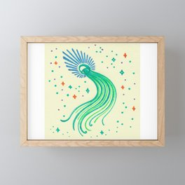Angel Jellyfish #27 Framed Mini Art Print
