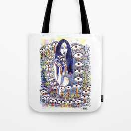 Who Sees you Tote Bag