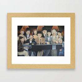 Classic Celebrities Framed Art Print
