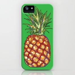 Pineapple, tropical, Hawaii iPhone Case
