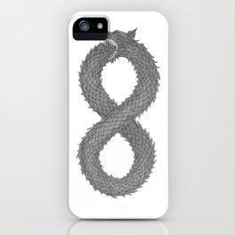 Infinity Wolf iPhone Case