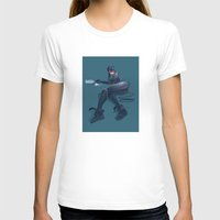 catwoman T-shirts featuring CATWOMAN by orlando arocena ~ olo409- Mexifunk