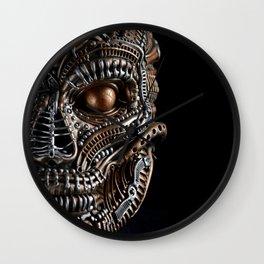 Biomechanical monster Wall Clock