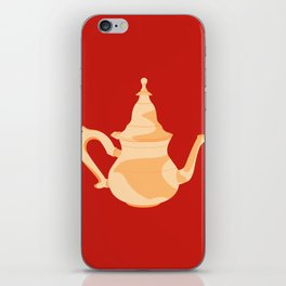 MADE IN MOROCCO #09-THE TEAPOT iPhone Skin