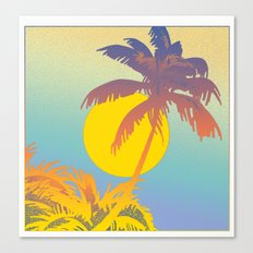 Tropical Lure Canvas Print