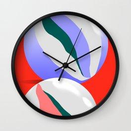 Marbles I Wall Clock