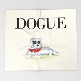 Dogue Throw Blanket