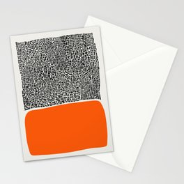 City Sunset Abstract Stationery Cards