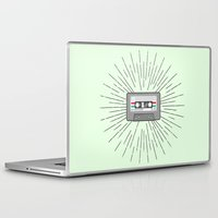 tape Laptop & iPad Skins featuring Tape by Colleen Sweeney