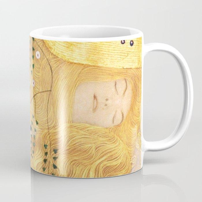 Water Serpents - Gustav Klimt Coffee Mug