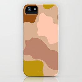 amoeba print iPhone Case