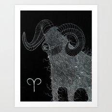 ARIES Art Print