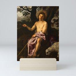 "Diego Velázquez ""Saint John the Baptist in the Wilderness"" Mini Art Print"