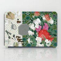 perfume iPad Cases featuring Making perfume by Yuliya
