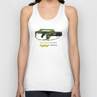 aliens Tank Tops featuring Aliens M41A by avoid peril