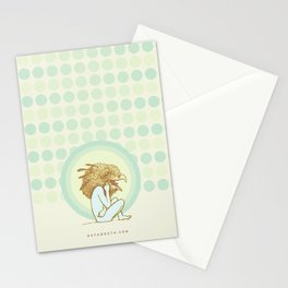 bird dream of the olympus mons Stationery Cards