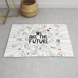 We Are The Future Tattoos Part 2 Rug