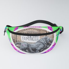 Feminism Mexico Endangered ecopop Fanny Pack