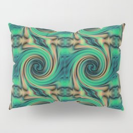 Green Maelstrom Pillow Sham