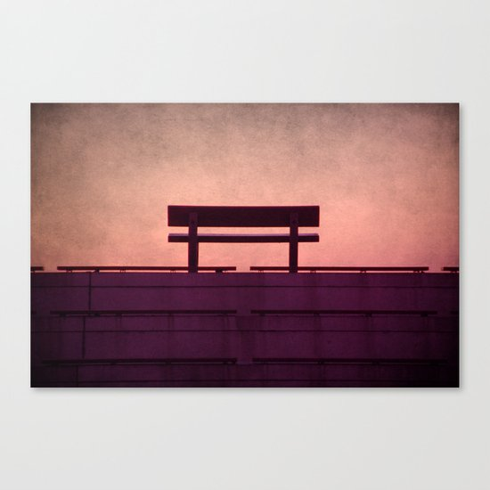 After the horizon Canvas Print