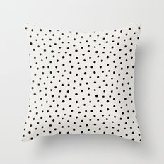 Perfect Polka Dots Throw Pillow
