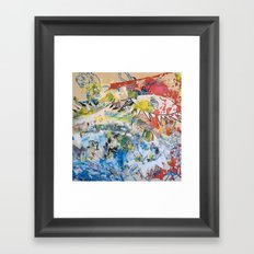 LION (Guernica) Framed Art Print