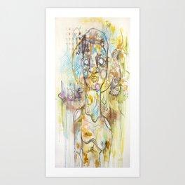 Venus in Pisces.  Art Print