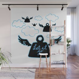 Let it go Wall Mural