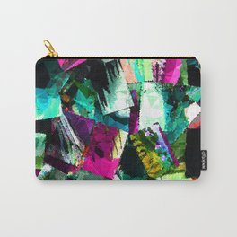 abstract art paint chips Carry-All Pouch