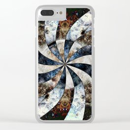 Space Odyssey - Black Hole Clear iPhone Case