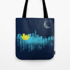 city that never sleeps Tote Bag