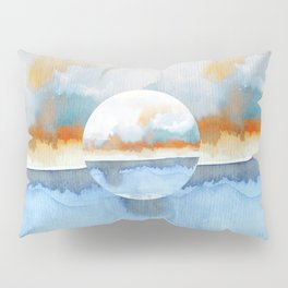 Orange Sea Drop Pillow Sham