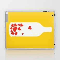 Message in a bottle Laptop & iPad Skin