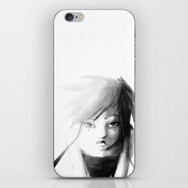 Grey Japanita iPhone Skin