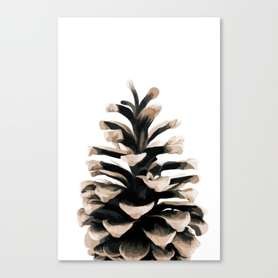 Pinecone Canvas Print