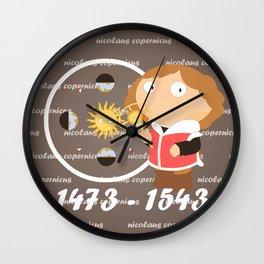 Nicolaus Copernicus Wall Clock