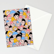 I SEE FACES Stationery Cards