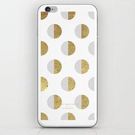 moon white - 5s/5 iPhone Skin