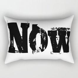 Now! NOW  I say! Rectangular Pillow