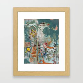Not so Green Thumb Framed Art Print