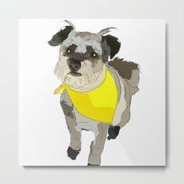 Thor the Rescue Dog Metal Print