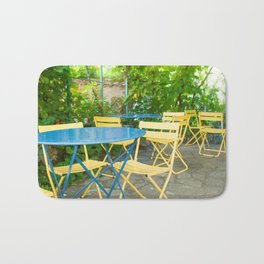 Dinner in the French Countryside Bath Mat