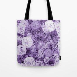 bouquet ver.purple Tote Bag