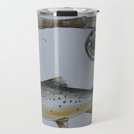 Ice Fishing Travel Mug