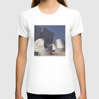 concert T-shirts featuring Walt Disney Concert Hall by Jeff Harmon Photography