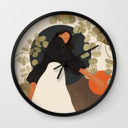 Living in Movement Wall Clock