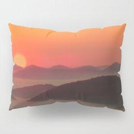Sunrise Over Blue Ridge Mountains Pillow Sham